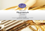 Fliegermarsch for large brass ensemble